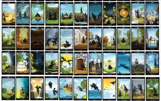 Таро Чёрных Котов: галерея, история создания, особенности