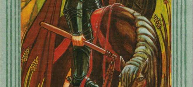 Рыцарь Дисков Таро Тота: общее значение и описание карты