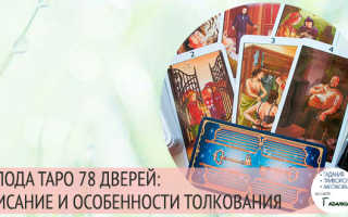 Таро 78 дверей: галерея, история создания, особенности