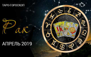Таро-гороскоп для Раков на апрель 2020 года от колоды Таро Театр Кукол